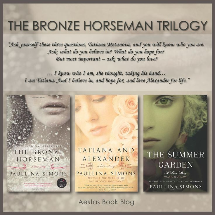 The Bronze Horseman Trilogy by Paullina Simons. My absolute most favorite love story. Ever.