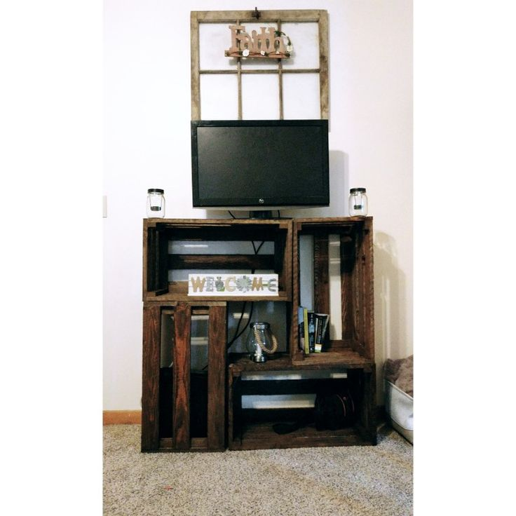 Best Tv Pinterest: 25+ Best Ideas About Crate Tv Stand On Pinterest