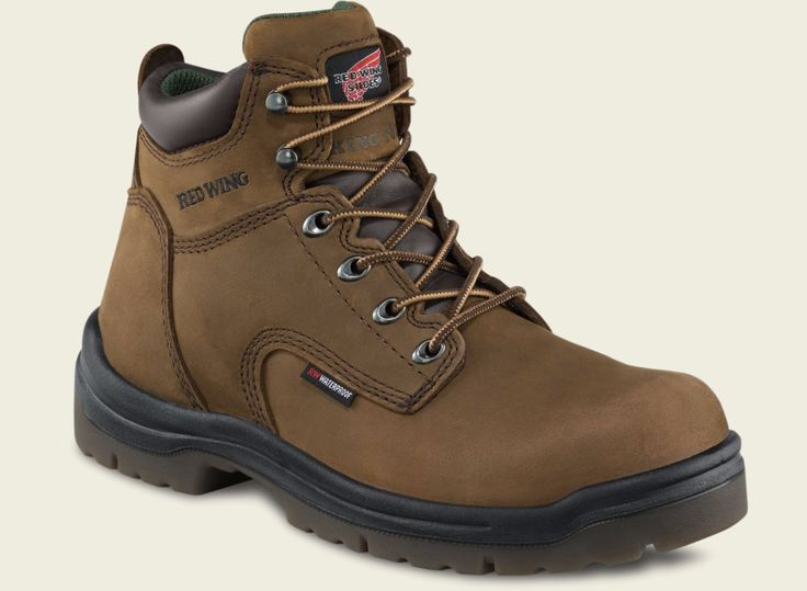 Occupational 11501: Red Wing 2240 6-Inch Mens Brown Non-Metallic Safety Toe Waterproof Work Boots -> BUY IT NOW ONLY: $169.95 on eBay!