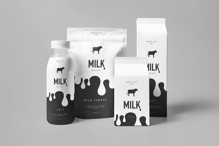 Milk Mock-up on Behance
