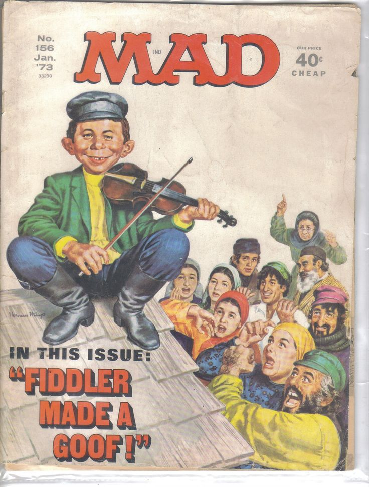 Mad Magazine No.156 January 1973