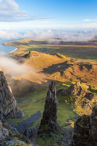 The Needle, The Quiraing, Trotternish, Isle of Skye, Hebrides, Scotland.