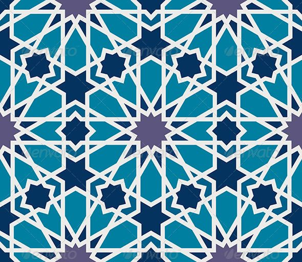 how to make islamic patterns