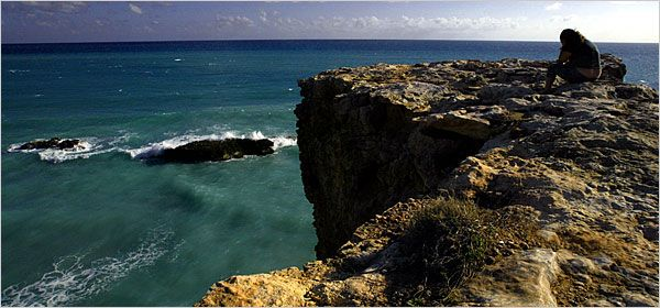 South by Southwest in Puerto Rico (Cabo Rojo, Guanica, etc...): http://www.nytimes.com/2006/06/02/travel/escapes/02puerto.html