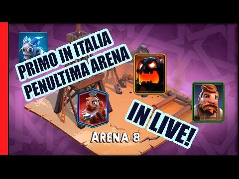 LIVE PRIMO IN ITALIA PENULTIMA ARENA | Tribal Mania [Gameplay ita]