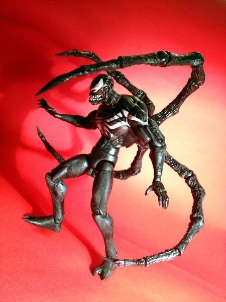 marvel legends superior venom custom action figure by