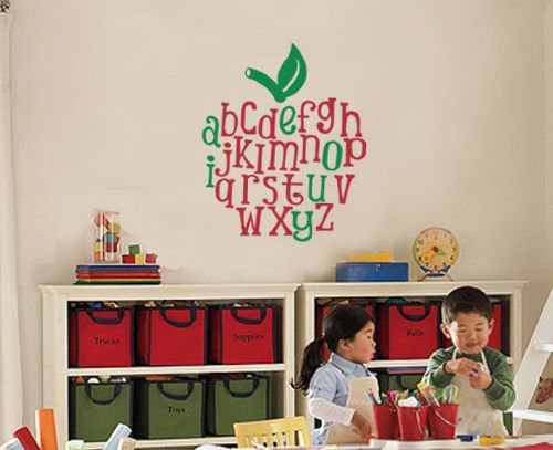 Love this apple decor! So going in my class forever!