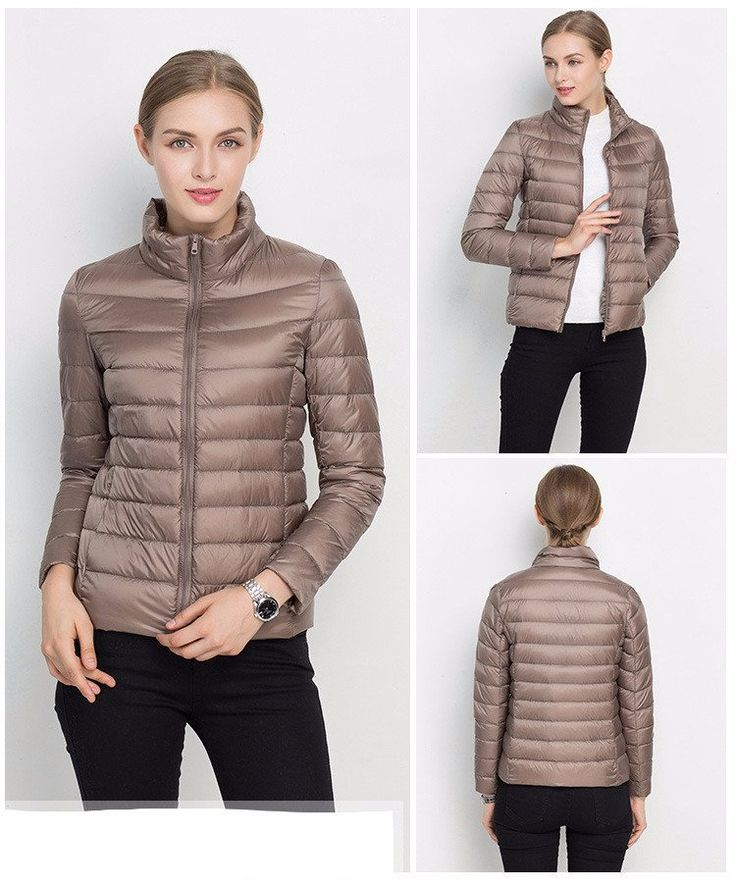 High collar styling and princess seaming streamline the look of a channel-quilted jacket insulated with lofty, ultra-lightweight down for cozy warmth and packab