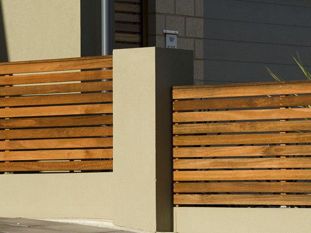 Front fence idea - Bayside Fencing, Fencing Construction, Cheltenham, VIC, 3192 - TrueLocal