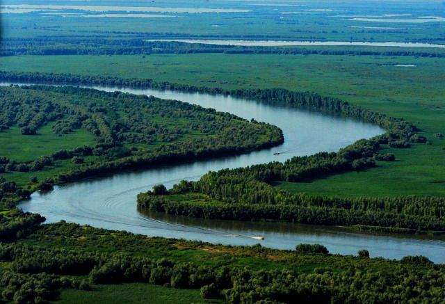 The Danube Delta is the second largest in the world, after Volga Delta and part of the World Heritage Sites. It started forming in a bay of the Black Sea around 4000 BC. It is estimated that almost 40% of the delta was constituted in the last 1000 years.