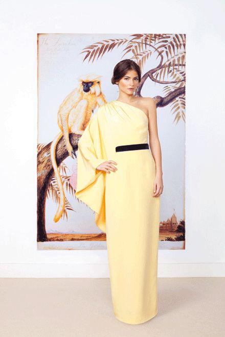 Jorge Acuña este vestido es lo más