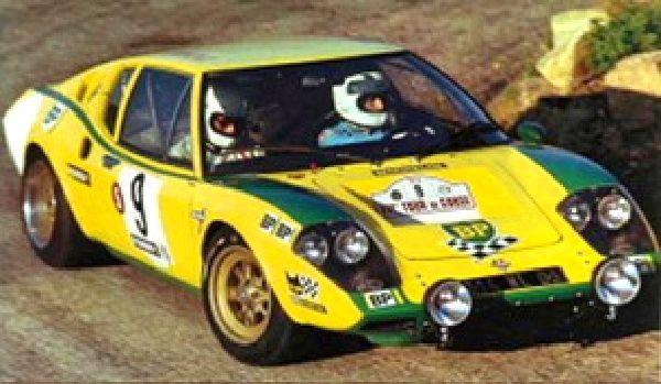 Tour de Corse 1972 Jean Ragnotti Ligier JS2