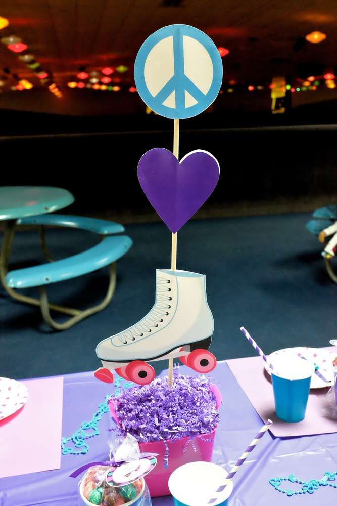 Roller Skating Birthday Party Ideas | Photo 1 of 61 | Catch My Party
