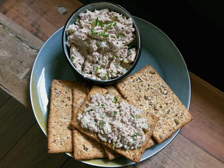 Gezonde tonijnsalade: recept met Griekse yoghurt