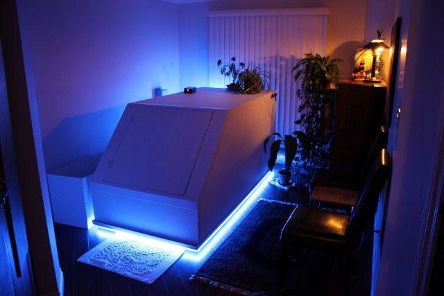 Sensory deprivation float houston health and wellness for Enlighten sauna