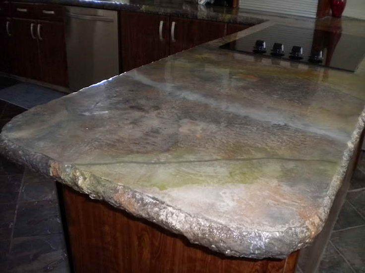 ... concrete countertops, Faux concrete countertops and Cost of concrete