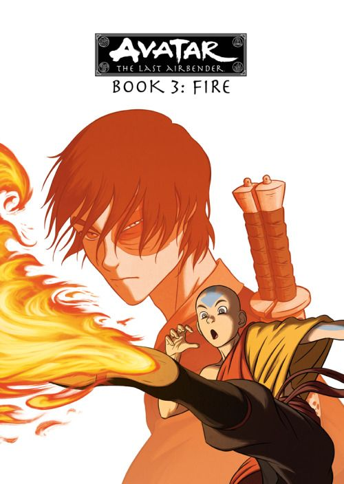 Cover for Book3 DVD box set of the complete series of Avatar: The Last Airbender - Bryan Konietzko