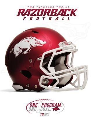 2012 University of Arkansas Football Media Guide