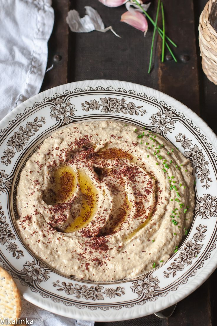 Smoky Baba Ghanoush with Sumac | Recipe
