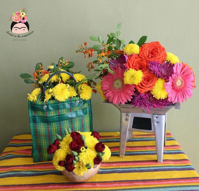 Arreglos Florales Boda Mexicanos Buscar Con Google Party