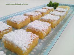 Trancetti con cocco e limone, dolcetto molto semplice e goloso..io adoro nei dolci il profumo del limone,e trovo che abbinato al cocco sia davvero perfetto