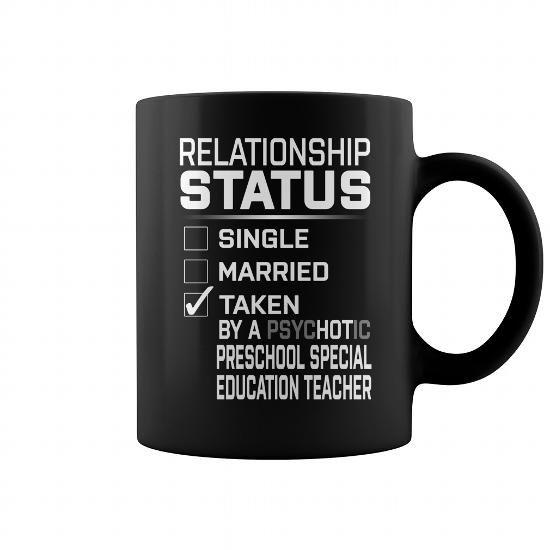 Teacher shirt Preschool Special Education Teacher Job Title Mug T-Shirts