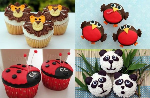 Animal cupcakes - Little Red Riding Hood cupcakes - goodtoknow
