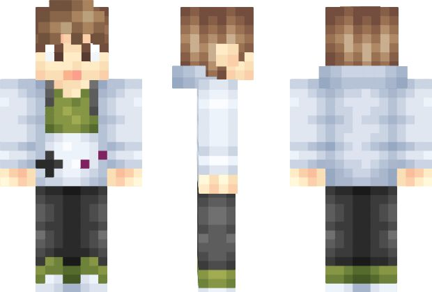 Minecraft Skin Hair Boy | Pwner