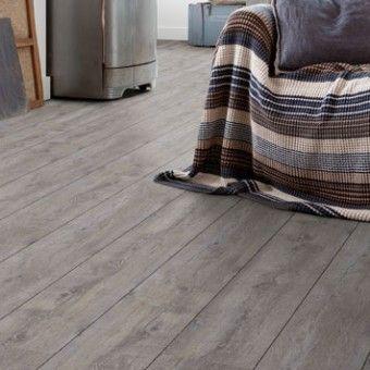 Home Stick - Grey pecan XL: Selbstklebender Vinylboden (Limited edition) (374)