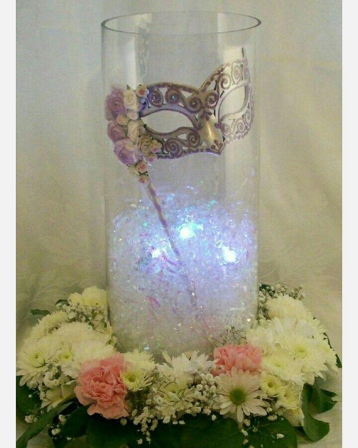 I Will Love To Have A Masquerade Ball Wedding Party CenterpiecesMasquerade