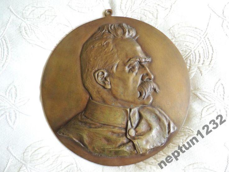 Plakieta Józef Piłsudski Duża