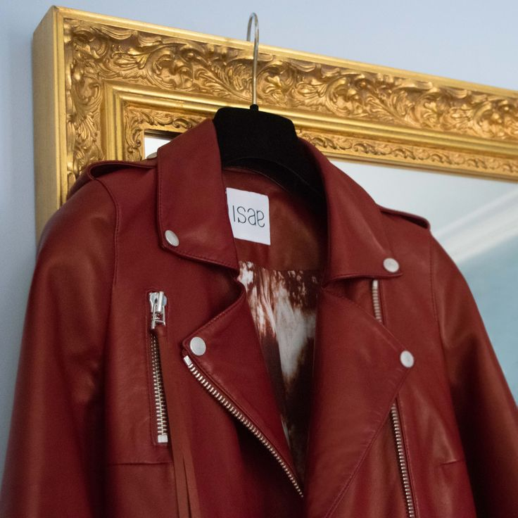 ADA OXBLOOD RED #burgundy #Luxury #Fashion #Madeinparis #Parisan