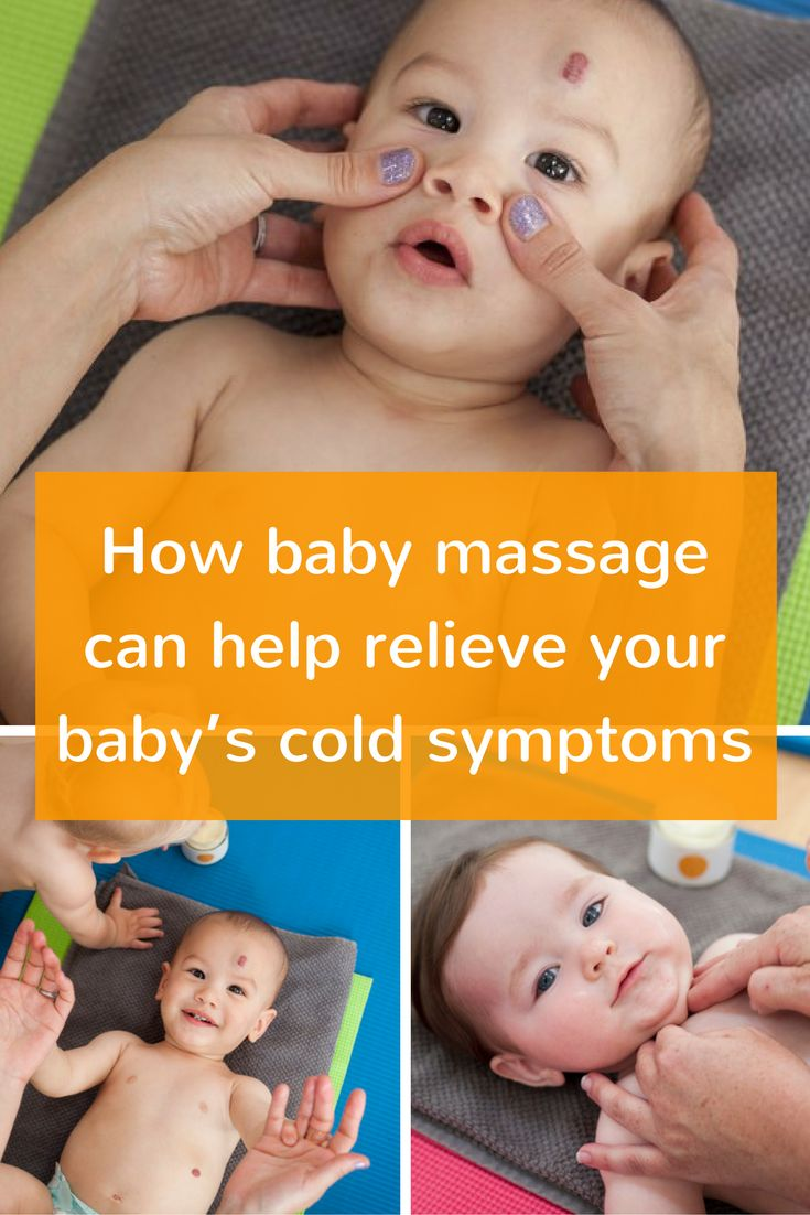 Has your baby picked up a cold? In the 7th part of our baby massage advice blog series, Jayne looks at how baby massage can help relieve your baby's cold symptoms.