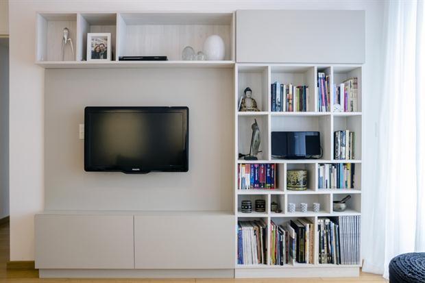 Bibliotecas para mantener todo en orden  Sofisticadas y actuales, las propuestas de Línea D.