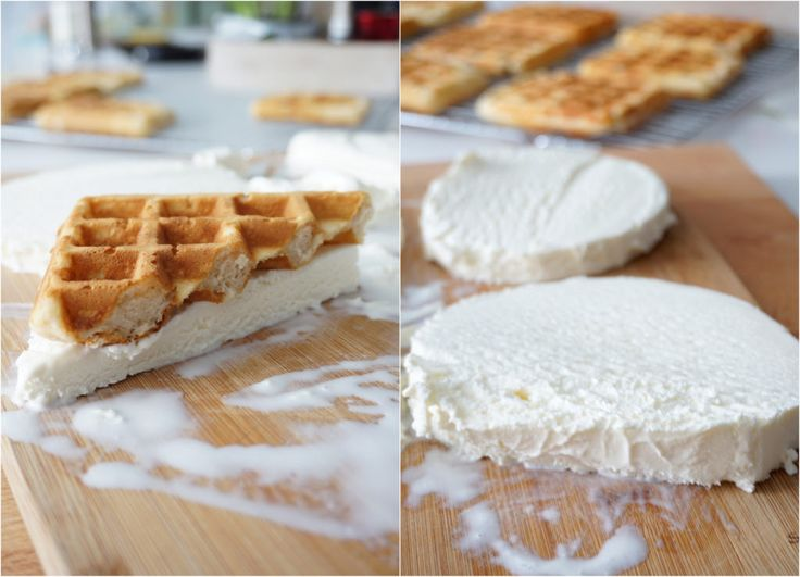 Tricks to making the perfect waffle ice-cream sandwich.