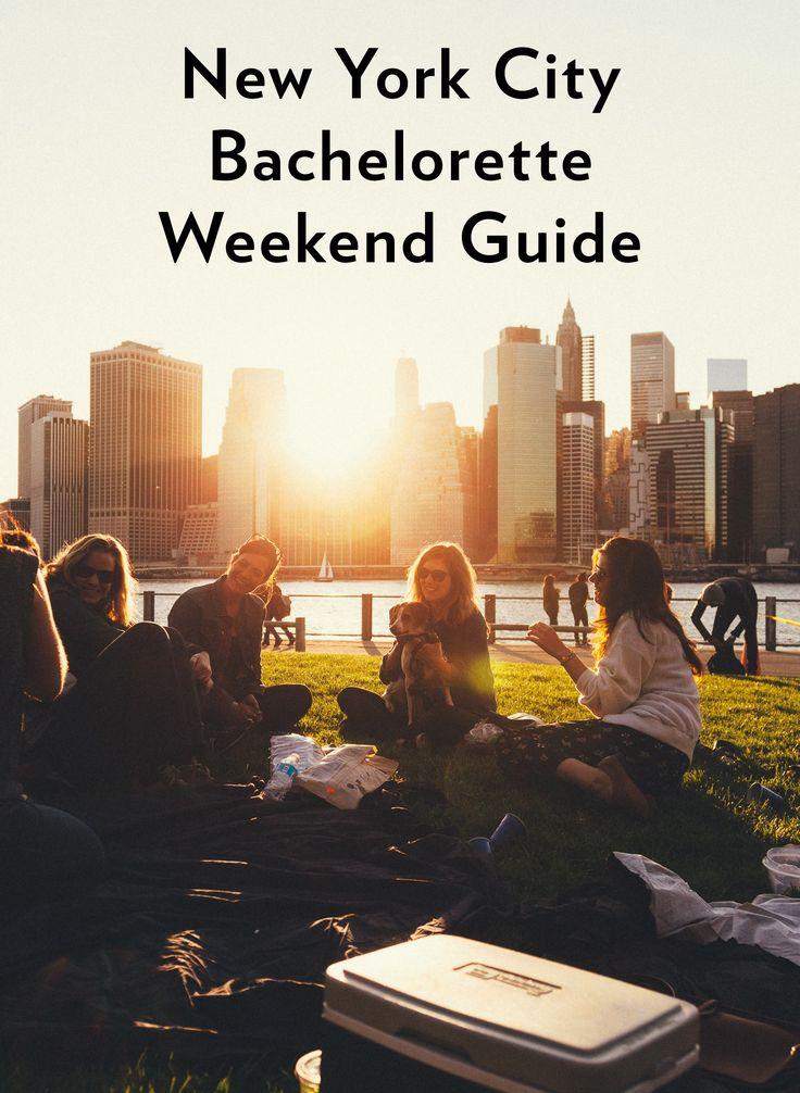 27 best bachelorette party ideas new york city nyc for Best cities for bachelorette parties