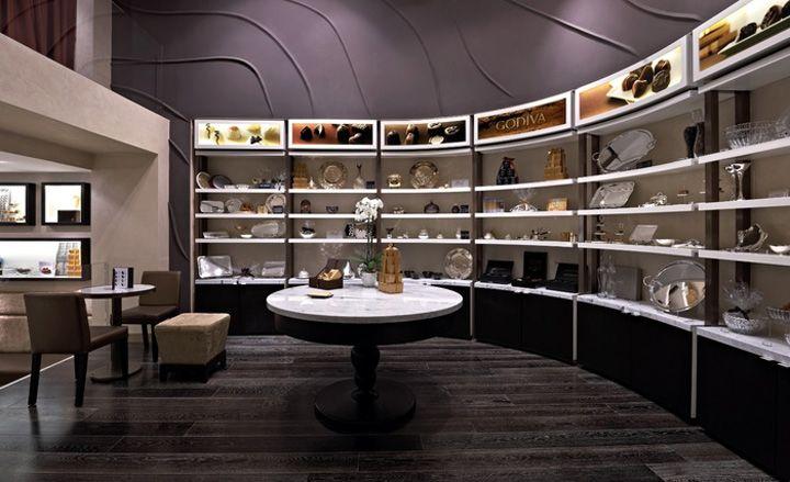 Godiva flagship stores concept design by d ash design store design hotels and restaurants