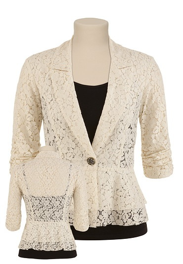 Am I crazy for loving this lace blazer?