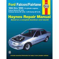 Ford Falcon EF to EL, Fairlane & LTD Repair Manual 1988-1993 with MPN HA36732