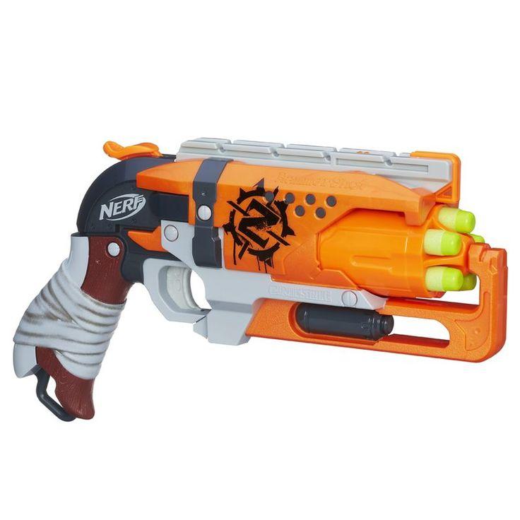 Resultado de imagem para pistola nerf zombie strike