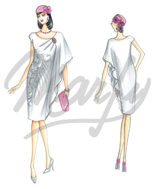"""Marfy is an Italian company.  A paper pattern is cut individually, never mass produced.  There are a number of selected patterns on line from this season. The remainder of the 200 patterns are in the""""for sale""""  catalog."""