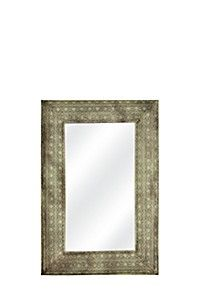TIN RECTANGULAR 60X90CM MIRROR