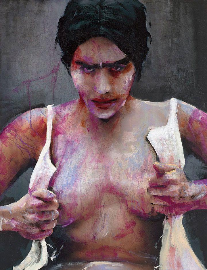 Lita Cabellut   Lita Cabellut Paintings   Lita Cabellut Artwork   Lita Cabellut Exhibitions