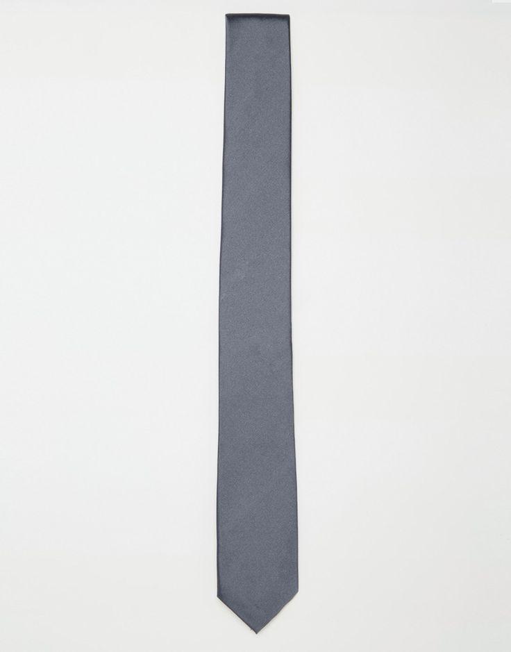 Krawatte von Calvin Klein bedruckte Seide geformte Enden Schlaufe hinten Chemisch reinigen 100% Seide L: 148 cm/58 Zoll, B: 7 cm/3 Zoll