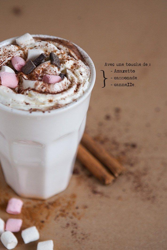 Une boisson chaude pour les longues soirées d'hiver, à agrémenter selon les goûts.
