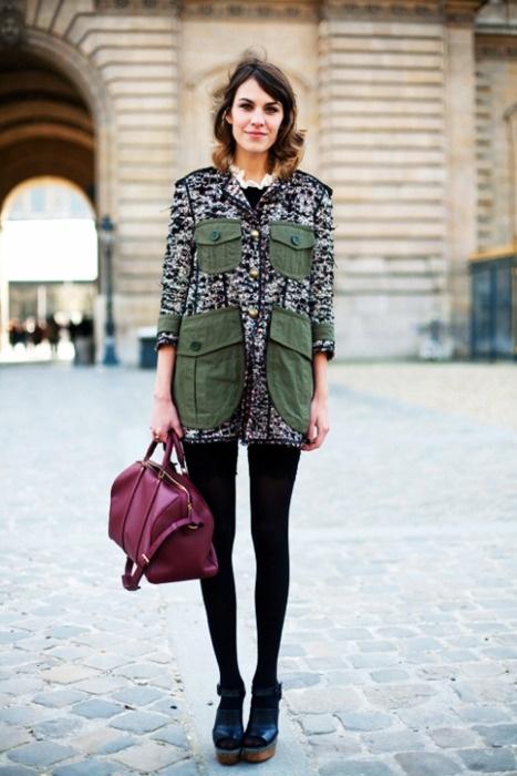 Alexa Chung Street Style   style   Pinterest