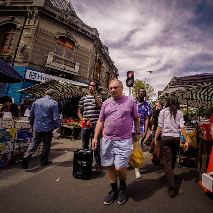Street Market. 10 de Julio. Santiago de Chile. #GoPro #Chile