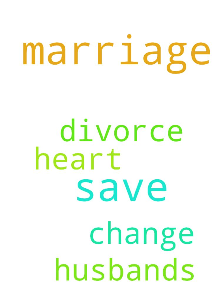 how to change myself to save my marriage