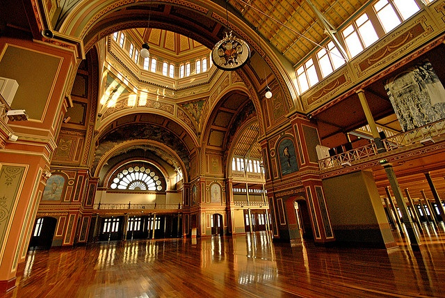 Royal Exhibition Building in Carlton Gardens, Melbourne. Reminds me of uni exams...