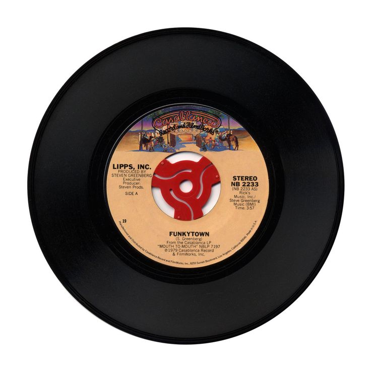 """Funkytown"" Lipps, Inc. (Casablanca Records; 1980)   Casablanca Records; 1980"